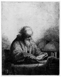 der philosoph by ferdinand bol