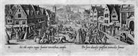 venationis, piscationis, et aucupii typi (landschaften mit jagd- und dorfszenen) (42 works) by hans bol