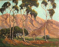 foothill landscape by george sanders bickerstaff
