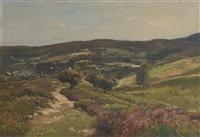 a summer landscape by louis alexandre cabié