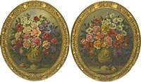 fiori di forma ovale (2 works) by luigi arbarello