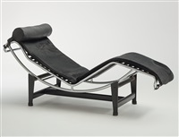 chaiselongue lc 4 by le corbusier, charlotte perriand and pierre jeanneret