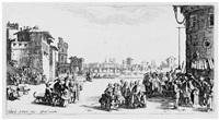 le marché d'esclaves - die kleine ansicht von paris by jacques callot
