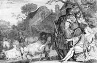 der engel verheißt abraham die geburt eines sohnes by gerrit claesz bleker