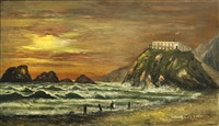 the first cliff house, san francisco by american school (19)