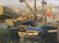 squid boats, monterey by brian blood