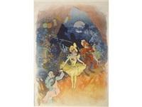 musée grévin. théatre les fantoches (b. 471) by jules chéret
