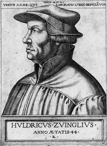 bildnis des reformators ulrich zwingli by rené boyvin