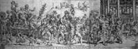 der triumph des bacchus und silenus by cornelis bos