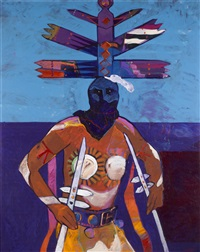 apache mountain spirit dancer by john nieto