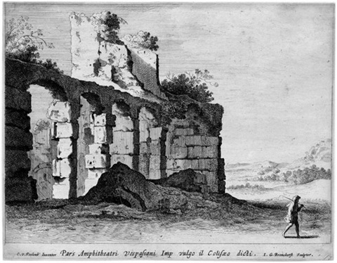 ruinen des colloseums after cornelis van poelenburg by jan gerritsz van bronckhorst
