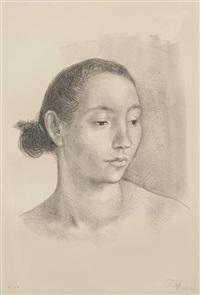 cabeza de muchacha by francisco zúñiga