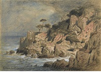point lobos, monterey, california by samuel colman