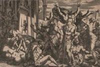 ignorantia, vom könig françois i. besiegt by rené boyvin