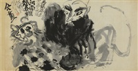 wu song slaying the tiger by chao chung-hsiang and walasse ting