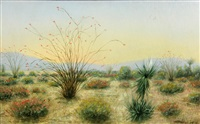 desert in bloom by hugo a. possner