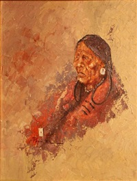 blackfoot grandmother by ace powell