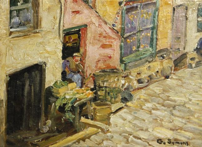 street scene by george gardner symons