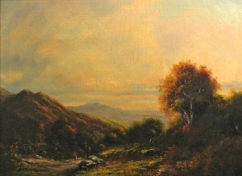 sunlit peak by paul wesley arndt