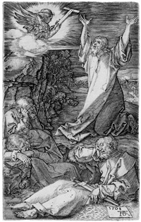 christus am ölberg by albrecht dürer