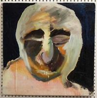 o. t. (porträt vor dunklem hintergrund) by thomas baumgärtel