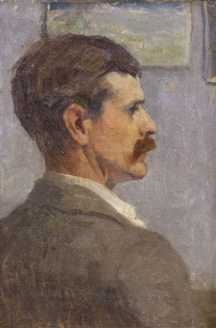 portrait of john saxton by louis paul dessar