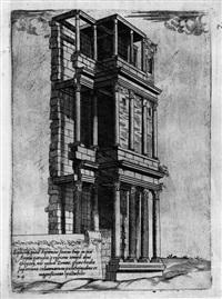 urbis romae aedificiorum illustrium quae supersunt reliquiae... (portfolio of 49 w/title pg.) by giovanni antonio dosio