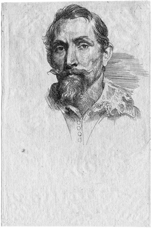 portrait des malers frans snyders by sir anthony van dyck