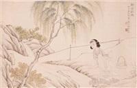 柳阴秋思 by lin xueyan