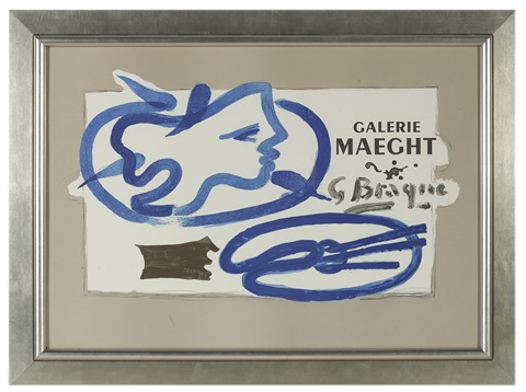 for galerie maeght by georges braque