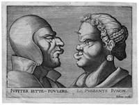 groteske: vier vulgäre paare (4 works) by pierre firens