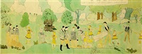 at aronburgs run, glorinia by henry darger