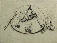 dirty dish by joseph goldyne