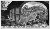 der klagende jona unter dem weinstock (by philipp galle) by maerten jacobsz van heemskerck
