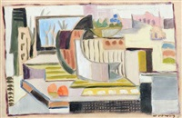on the window (am fenster) by werner drewes