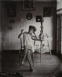 storyville portrait, nude #10, new orleans by e.j. bellocq