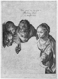 die anbetung der hirten by hendrik goltzius