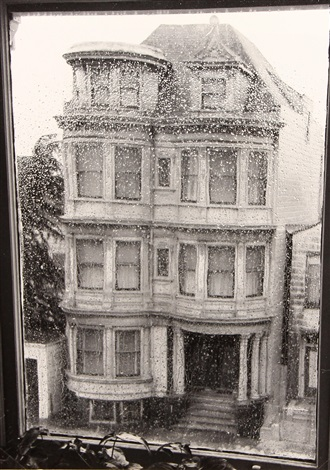 victorian house san francisco by ruth bernhard