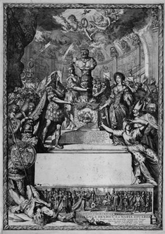 allegorie der hochzeit von prinz wilhelm iii von england und prinzessin maria von york by romeyn de hooghe