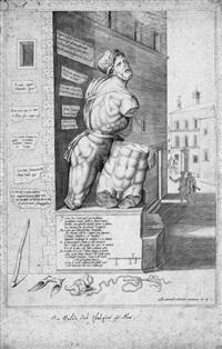 statua di pasquino by antonio lafreri