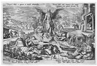 vier allegorien der zeit (4 works) by gerard de jode