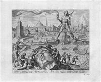 die acht weltwunder (8 works) by maerten jacobsz van heemskerck