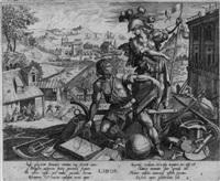 die vier lebensalter des menschen (set of 4 after raphael sadeler) by pierre firens