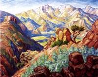 in the rockies, estes park, colorado by john s(ites) ankeney