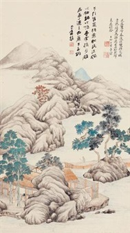 秋山幽居 by jiang jian