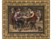 the card players by george appert