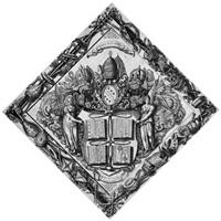 honos alit artes - ehre nährt die künste (after weisen) by julius goltzius