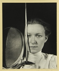 helen mayer, fencer by imogen cunningham