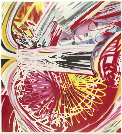 fire fountain by james rosenquist