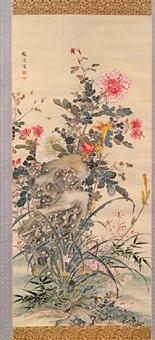 summer flowers by yamamoto baiitsu